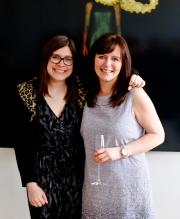 Literary Agent Juliet Mushens & 2014 Winner Joanna Barnard